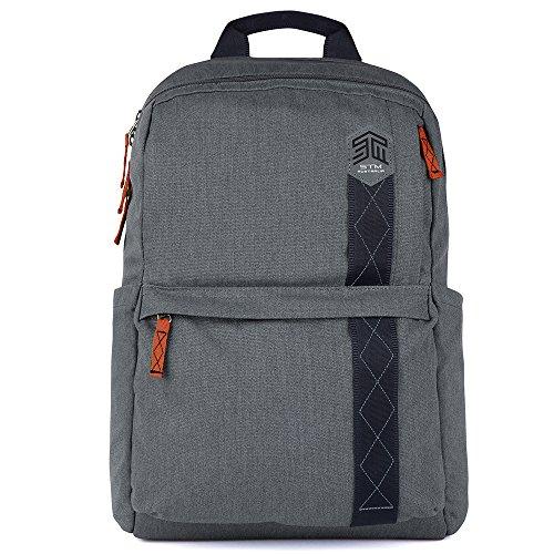STM Banks Backpack For Laptop & Tablet Up To 15'' - Tornado Grey (stm-111-148P-20) by STM