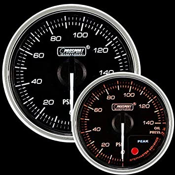 Pressure Gauge 0-150 PSi Innovate 52mm Universal Digital Oil Temperature