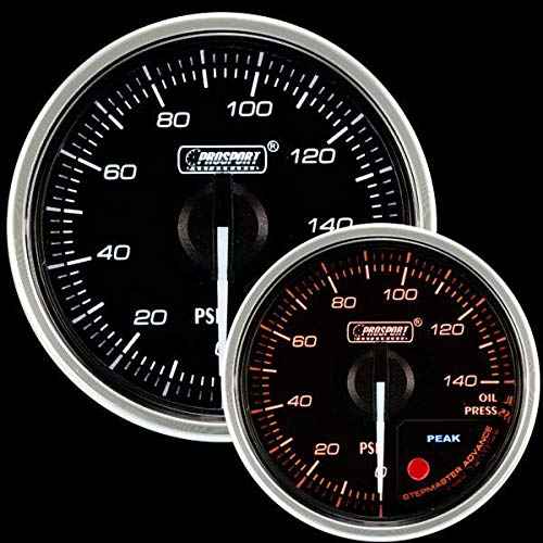 Prosport Universal 52mm Supreme Electrical Oil Pressure Gauge 0 to 150 PSI