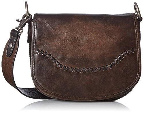 FRYE Melissa Whipstitch Saddle, Slate by FRYE