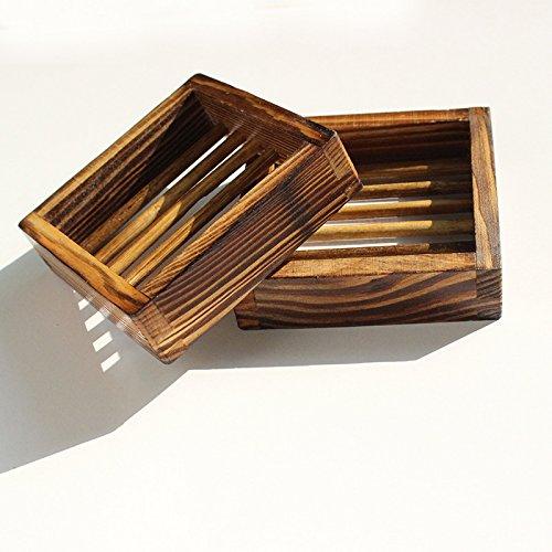 Soap Dish,Bath Accessories Natural Wood Soap Holder. (Type 3) 1PCS