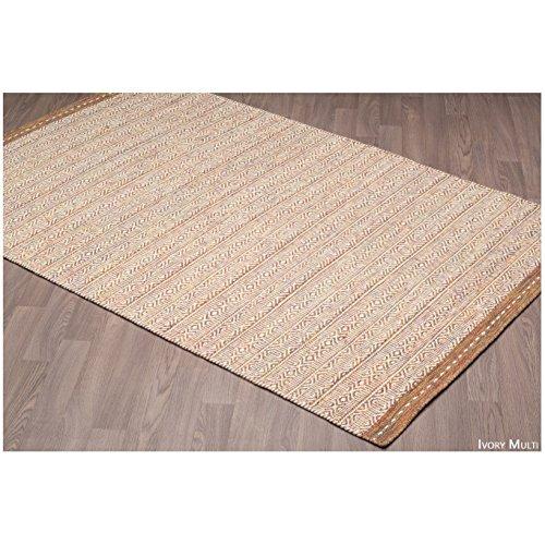 (Handmade Prague Reversible Wool Rug (5'x8') - 5'x 8' (Multi))