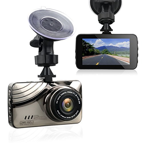 "Dash Cam, Hexdeer Car Camera 2K Video 170 Wide Angle, Dashboard Camera Car DVR with 3.0"" Screen. Supports  G-Sensor, WDR, Loop Recording"