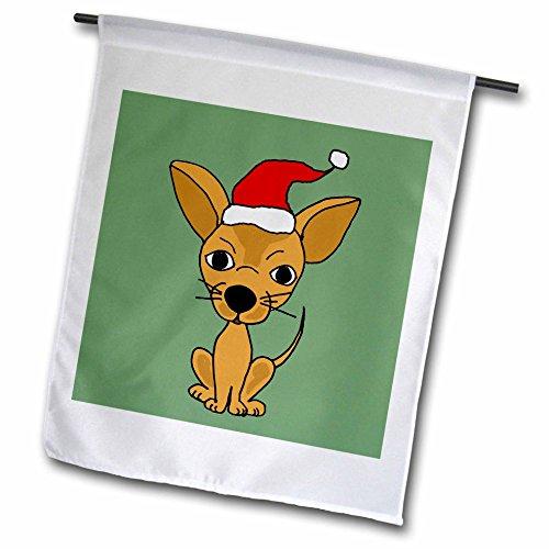 3dRose fl 200475 1 Chihuahua Wearing Christmas
