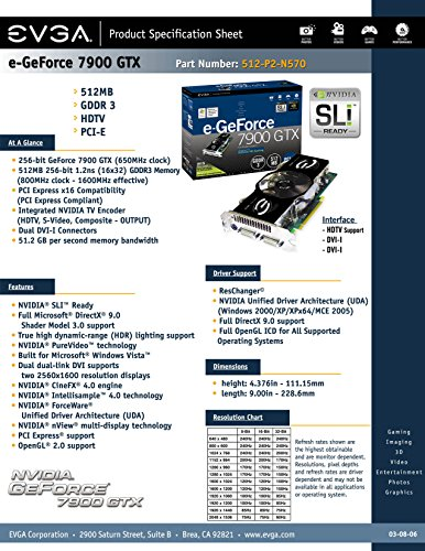 POWERCOLOR AX4870 512MD5 PowerColor AX4870 512MD5-PPH Radeon HD 4870 512MB 256-bit GDDR5 PCI