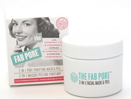 Soap And Glory The Fab Pore Facial Peel 2 In 1 Pore Purifying Mask And Peel 50ml