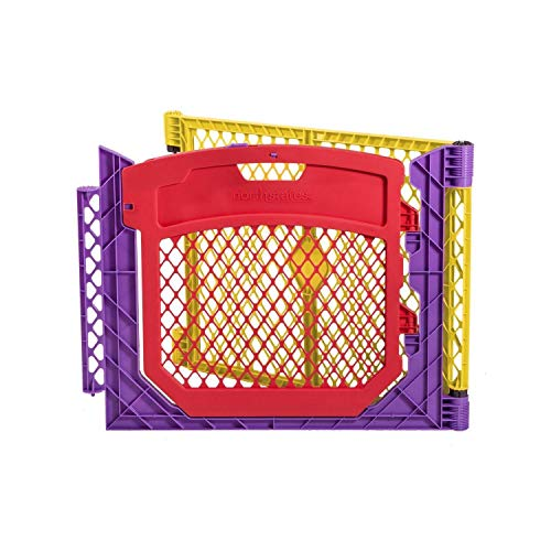 North States 2-Panel Extension with Door for Multicolor Superyard Colorplay: Increases Play Space up to 34.4 sq. ft. (Adds 64