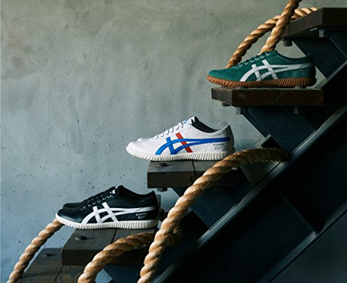 Asics Tsunahiki Noir Mixte Sneakers 001 white Adulte Basses black rrdwv4qn