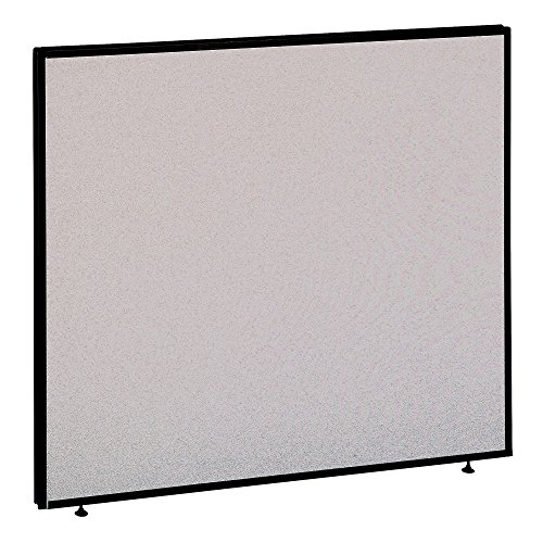 Office Furniture Dividers - Bush Business Furniture ProPanels - 42H x 48W Panel in Light Gray/Slate