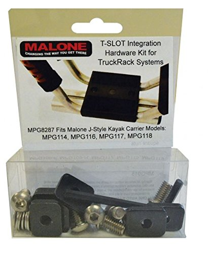 - Malone Auto Racks T-Slot Mounting Kit for Aero Style Bars (MPG114, 116, 117, 118