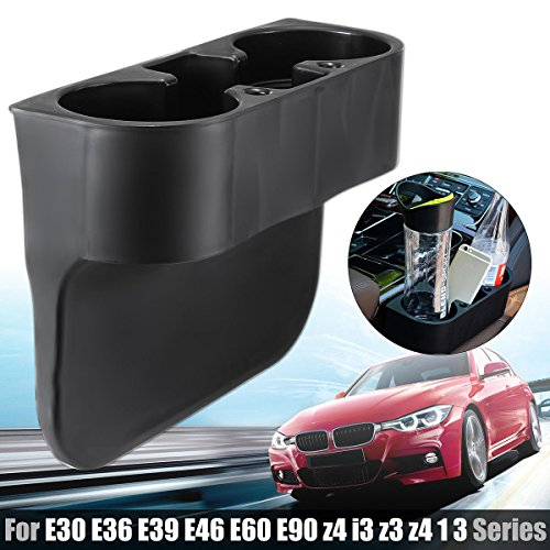 (Front Cup Holder Black For BMW E30 E36 E39 E46 E60 E90 Z4 I3 Z3 328i 1 3 Series)
