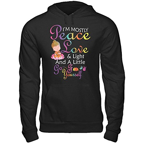 Peace And Love Hooded T-Shirt - 2