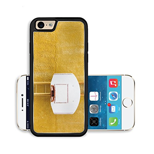 Liili Premium Apple iPhone 6 iPhone 6S Aluminum Backplate Bumper Snap Case Closeup of basketball hoop with vintage look 29100211 (Basketball Rim Price)