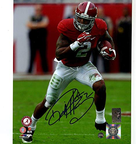 (Derrick Henry Signed Alabama 8x10 Photo - Steiner Sports Certified - Autographed College Photos)
