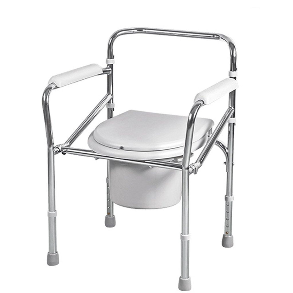 LXN 椅子バスチェアトイレシート折り畳み式妊婦老人トイレチェア丈夫な防水 B07DV25LKW