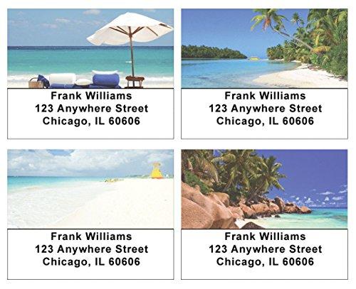 Beautiful Beaches Address Labels ()