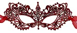 Luxury Mask Womens Lace Masquerade Mask Red