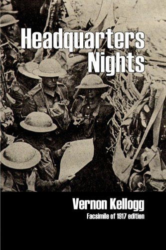 Download Headquarters Nights: A Record of Conversations and Experiences at the Headquarters of the German Army in France and Belgium ebook