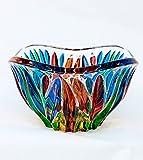 Murano Glass Fire Bowl, Small