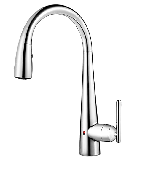 Pfister GT529-ELC Lita Single Handle Pull-Down Faucet with React ...