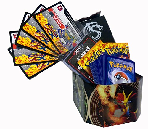 k w/ 60 Cards Deck Box, Sleeves Boosters, Holos, Keychain ()