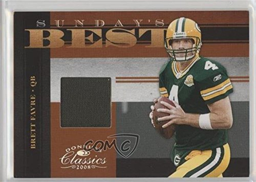 (Brett Favre #135/250 (Football Card) 2008 Donruss Classics - Sunday's Best - Jerseys [Memorabilia] #SB-26)