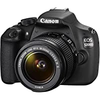 CANON EOS 1200D Digital SLR Camera Kit with EF-S 18-55mm IS II Lens (International Model No Warranty)
