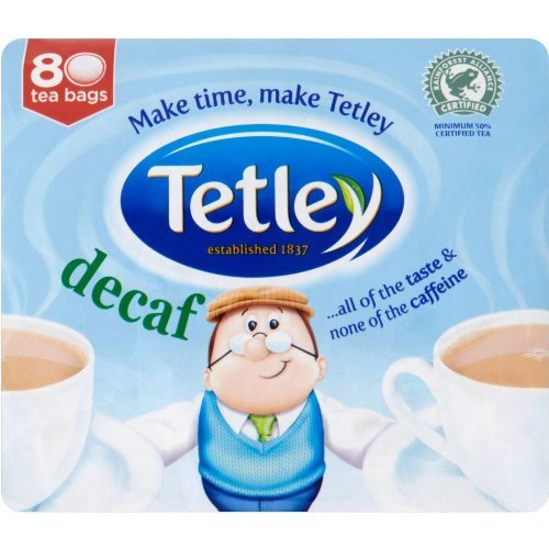 Tetley Tea Decaf (Tetley Decaf Tea Bags 80ct)