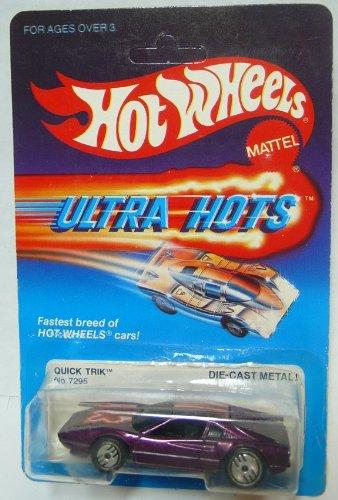 1980 Ferrari - Hot Wheels Quick Trik Ultra Hots - RARE 1980s Ferrari 308 Mint on Card