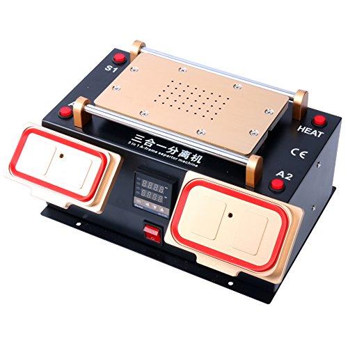 YaeTek 3 IN 1 MIDDLE BEZEL FRAME SEPARATOR MACHINE+ LCD SCREEN +BUILT IN VACUUM PUMP by YaeTek (Image #1)