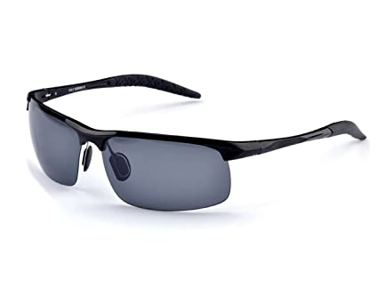 TELAM Police Polarized Sunglasses, Sport Sunglasses, Driver Mirror, Aluminum-magnesium Material Sunglasses.