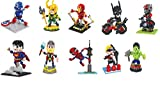 Bob Superheroes Minifigures Block Toys Pack of 10