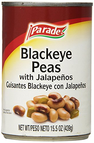 Parade Blackeye Peas with Jalapenos, 15 Ounce (Pack of 24): Amazon.com: Grocery & Gourmet Food
