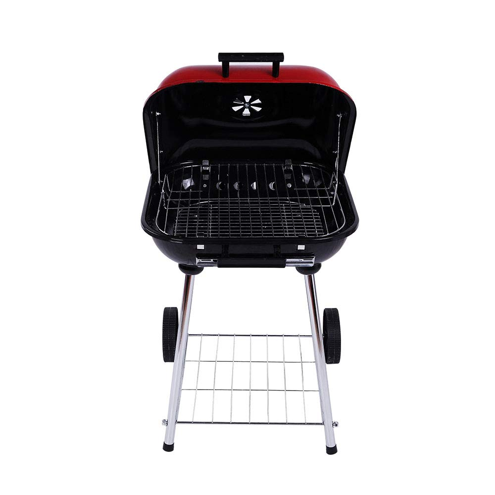 Dygzh Camping Grill Portable BBQ Grill Outdoor Cooking Camping and Tail Grill Grilling Lightweight Carrying Convenient Suitable for Camping Outdoor Gardens by Dygzh