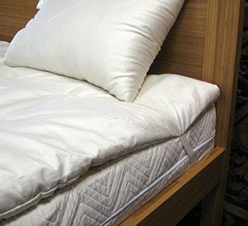 Cotton Cloud Futons - Sleepy Sheep Organics - California King Size Wool Mattress Pad