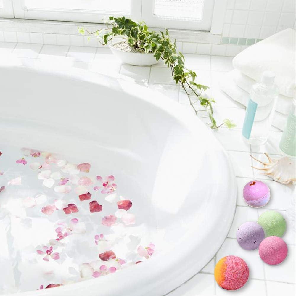Habbi Metal Bath Bomb Molds Set 48pcs Bath Bomb Mold Kit Including 2 Size 4 Hemispheres 2 Star 4 Shell 2 Heart-Shaped Mold 5 Bath Toy 30 Heat Shrink Bags for DIY Bath Bomb Making Supplies Kit