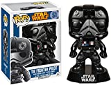 Tie Fighter Pilot: Funko POP! x Star Wars Vinyl Bobble-Head Figure w/ Stand + 1 FREE Official Star Wars Trading Card Bundle [57138]
