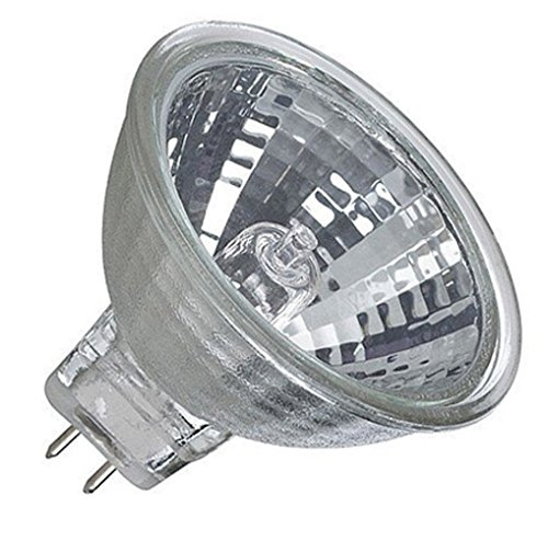 MR11 Bulb FTD 20 Watt Halogen Flood 12V MR11 GU4 2-Pin Base Light Bulb without Cover Lens - 20W MR11 - 20w Gu4 Mr11 Bulb