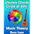 Music Theory - Ukulele Chord Theory - Circle of Fifths Fully Explained and application to Ukulele Playing (Learn Ukulele Book 1)