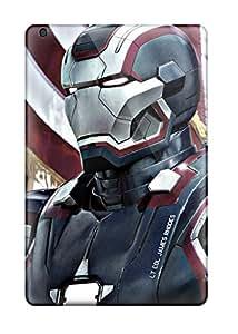 Best New Premium Flip Case Cover Iron Patriot In Iron Man 3 Skin Case For Ipad Mini