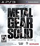 Metal Gear Solid The Legacy Collection PS3 Sony PlayStation include 10 games NEW