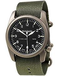 Bertucci A-4T Aero Watch Black - Defender Drab Nylon