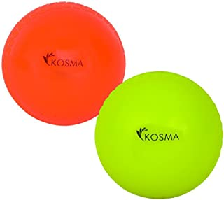 Kosma Set von 2PC Wind Ball–Orange, flourcent gelb