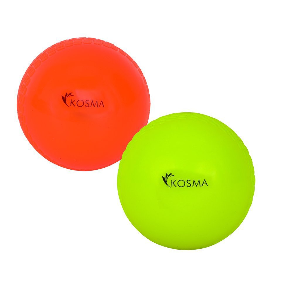 Kosma Set von 2 PC Wind Ball – Orange, flourcent gelb Montstar Global KG-21890