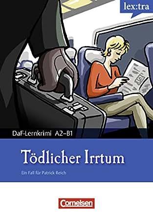 a2 b1 t dlicher irrtum krimi lekt re als e book lextra deutsch als fremdsprache daf. Black Bedroom Furniture Sets. Home Design Ideas