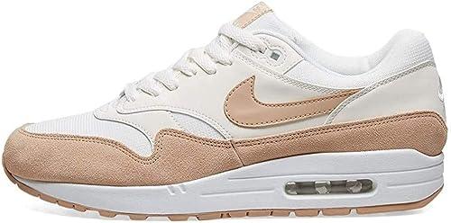 Nike Wmns Air MAX 1, Zapatillas de Running para Mujer, Beige (Summit White/Bio Beige/Summit White 120), 40 1/2 EU: Amazon.es: Zapatos y complementos