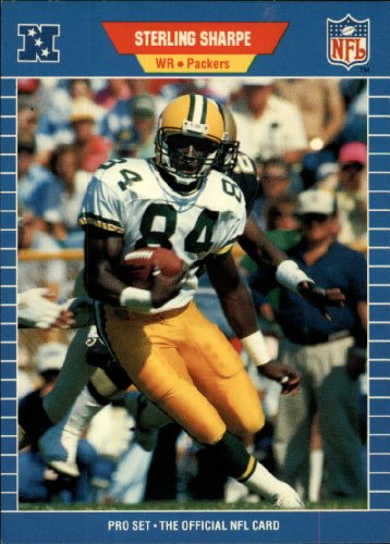 1989-pro-set-football-rookie-card-550-sterling-sharpe-mint