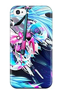 Hot Tpye Miku Hatsune Case Cover For Iphone 4/4s