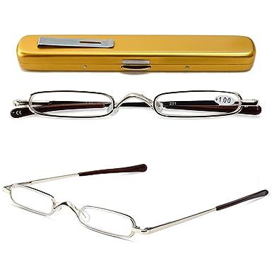 Men's Glasses Apparel Accessories Full Metal Frame Resin Lenses Comfy Light Glasses For Men Women Reading Glasses 1.0 1.5 2.0 2.5 3.0 3.5 4.0