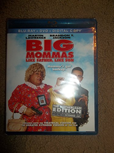 Big Mommas-Like Father Like Son (Blu-Ray/Dvd/Dc/3 Disc/Ws-2.40/Eng-Sp Sub)